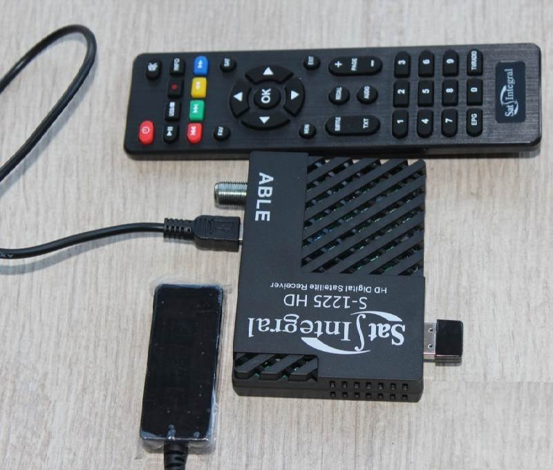 S-1225 HD ABLE Program and firmware for satellite receivers