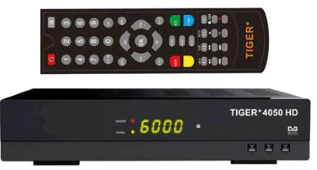 TIGER 4050 HD- programs and firmware for satellite receivers