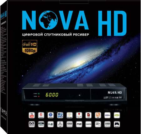 TIGER NOVA HD Program and firmware for satellite receivers, features